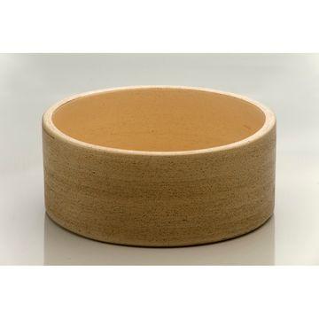 Bacha-de-Ceramica-Cilindrica-Marron-Lisa