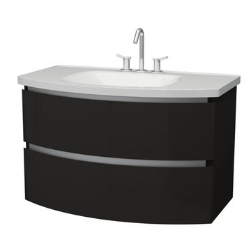 Mueble-Venus-Negro-Curvo-2-Cajones-50x78x48-Cm.