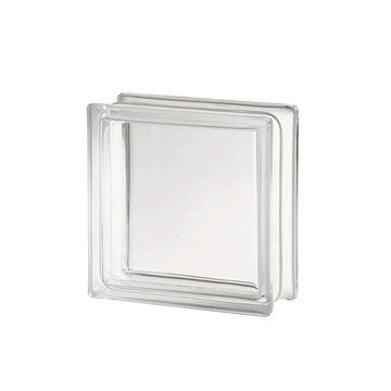 Ladrillo-de-Vidrio-Liso--transparente--Incoloro-Checo
