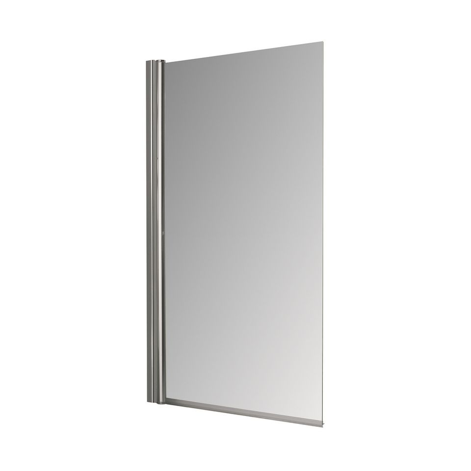 Mampara-de-Vidrio-Transparente-Baja-Rebatible-Cromo