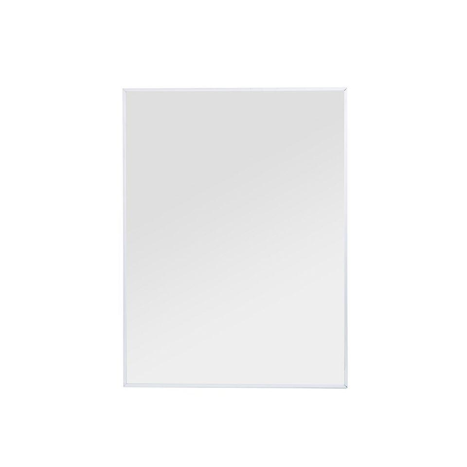 Espejo Con Marco De Aluminio - blaisten