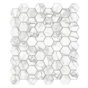 Mosaico-Hexa-Carrara-26x30-Cm