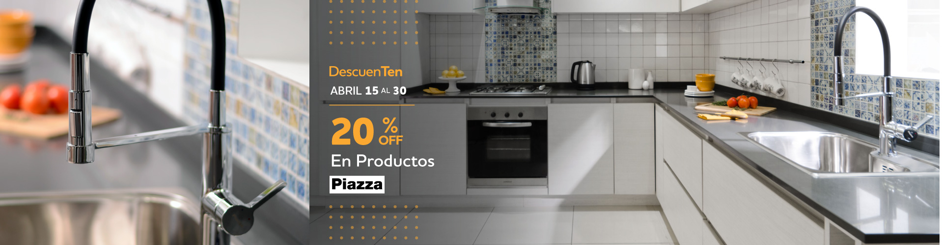 PIAZZA 20%