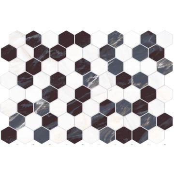 Revestimiento-Hexa-Mosaico-Nero-34x50-Cm.