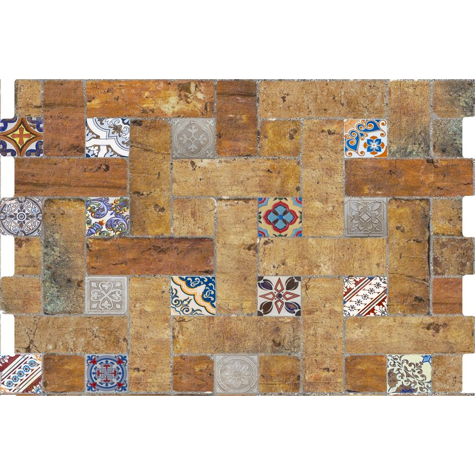 Revestimiento-Cotto-Decor-34x50-Cm.