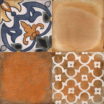 Ceramica-Cotto-Malva-Deco-33x33-Cm.