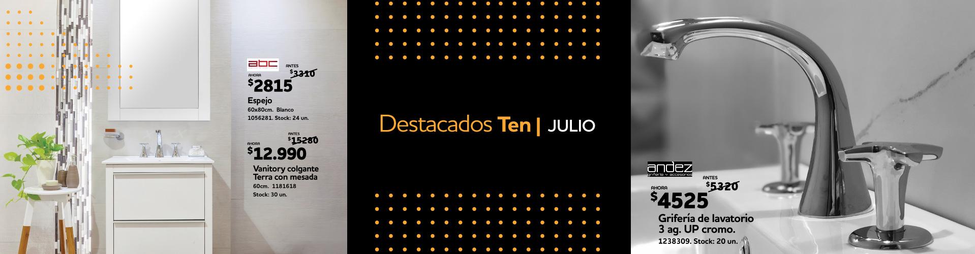 DESTACADOS JULIO