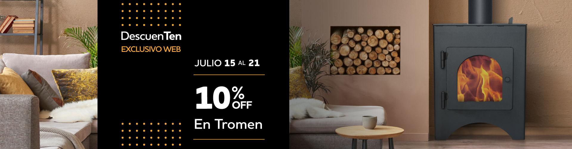 10% en Tromen