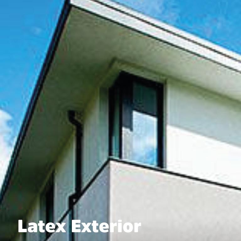latex exterior
