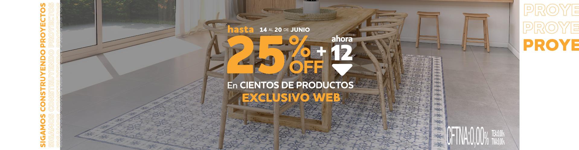 Exclusiva WEB 14 al 20 Hasta 25% en cientos de productos